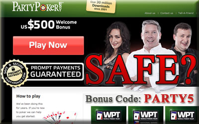 is partypoker safe