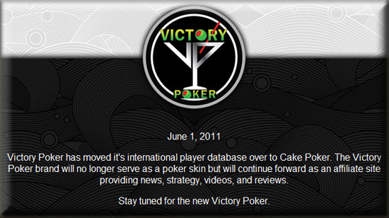 victory poker closes
